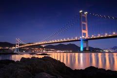 Puente de Hong-Kong Fotos de archivo
