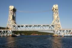 Puente de Houghton-Hancock en d3ia Fotos de archivo