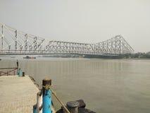 Puente de Howrah imagen de archivo