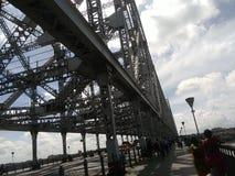 Puente de Howrah Fotografía de archivo