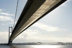 Puente de Humber, Kingston sobre casco fotografía de archivo libre de regalías