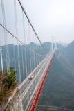 Puente de Hunan Xiangxi Aizhai imagenes de archivo
