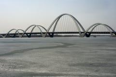 Puente de HunHe foto de archivo libre de regalías