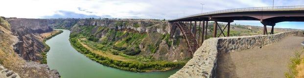 Puente de Idaho foto de archivo