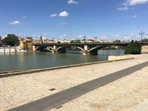 Puente de Isabel II Bridge Immagine Stock Libera da Diritti