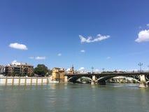 Puente de Isabel II Bridge Fotografia Stock Libera da Diritti