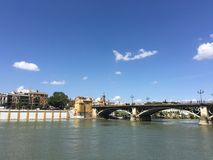 Puente de Isabel II Bridge Royalty Free Stock Photography