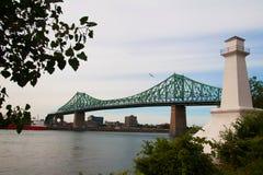 Puente de Jacques Cartier Foto de archivo