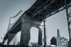 Puente de Jacques Cartier Fotos de archivo