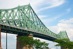 Puente de Jacques Cartier Foto de archivo libre de regalías