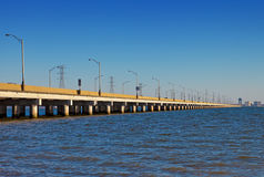 Puente de James River Imagenes de archivo