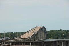 Puente de Jamestown Verrazzano foto de archivo libre de regalías
