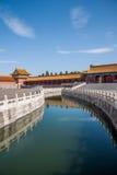 Puente de Jinshui del museo de palacio nacional de Pekín Imágenes de archivo libres de regalías