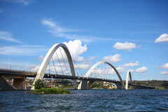 Puente de Juscelino Kubitschek fotografía de archivo