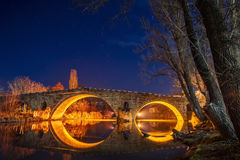 Puente de Kadin, Bulgaria Foto de archivo