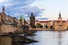 Puente de Karlov Imágenes de archivo libres de regalías