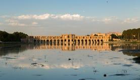 Puente de Khaju Imagenes de archivo