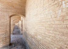 Puente de Khaju, Irán fotografía de archivo libre de regalías
