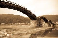 Puente de Kintai Imagen de archivo