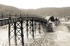 Puente de Kintai Fotos de archivo
