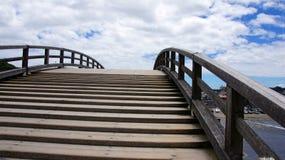 Puente de Kintai en Iwakuni Foto de archivo
