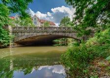 Puente de Koenigsworther Imagenes de archivo