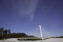 Puente de Kolomoen, Noruega Foto de archivo