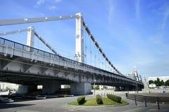 Puente de Krymskaya imágenes de archivo libres de regalías