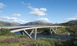 Puente de Kylesku Fotos de archivo