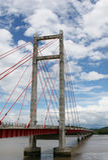Puente de la Amistad Immagine Stock Libera da Diritti