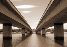 Puente de la avenida de la Commonwealth Imágenes de archivo libres de regalías