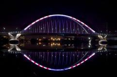 Puente de la avenida de Lowry Fotos de archivo libres de regalías