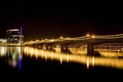 Puente de la avenida del molino Fotografía de archivo