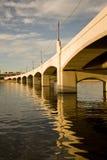 Puente de la avenida del molino de Tempe Fotografía de archivo