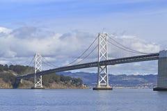Puente de la bahía Imágenes de archivo libres de regalías
