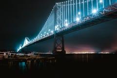 Puente de la bahía Fotos de archivo libres de regalías
