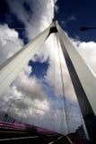 Puente de la bahía de Hangzhou de China Fotografía de archivo