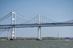 Puente de la bahía de Maryland imagenes de archivo