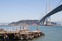Puente de la bahía de Oakland Foto de archivo libre de regalías