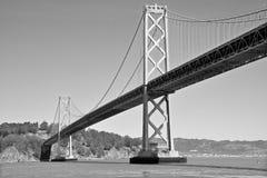 Puente de la bahía de San Francisco Oakland Imágenes de archivo libres de regalías
