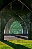 Puente de la bahía de Yaquina Foto de archivo libre de regalías
