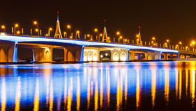 Puente de la bahía del asunto Imágenes de archivo libres de regalías