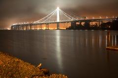 Puente de la bahía en San Francisco Imagen de archivo libre de regalías