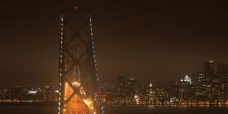 Puente de la bahía en San Francisco fotografía de archivo libre de regalías