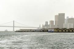 Puente de la bahía, San Francisco, California Imagen de archivo libre de regalías