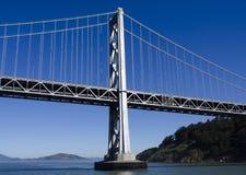 Puente de la bahía de San Francisco Oakland Fotografía de archivo libre de regalías