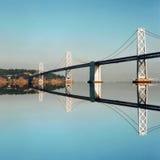 Puente de la bahía, San Francisco Foto de archivo libre de regalías