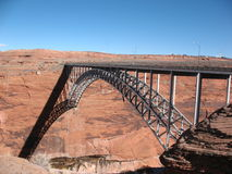 Puente de la barranca de la cañada Imagen de archivo libre de regalías