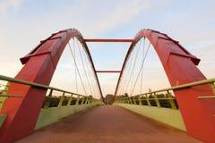 Puente de la bicicleta Fotografía de archivo