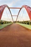 Puente de la bicicleta Fotos de archivo libres de regalías